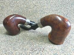 PETERSON'S 2 Pipes System Std. 305 & 313, P-Lips Smoking Estate Pipe/Pfeifen