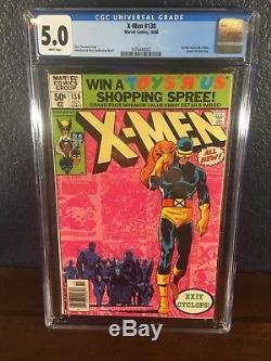 Phoenix Key Issue Lot UNCANNY X-MEN 101 110 134 137 138 157 CGC 9.8 1st 1963 NM