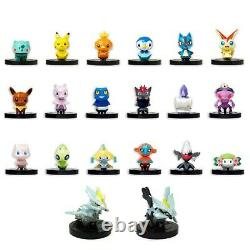 Pokemon Rumble Scramble U NFC Figure All normal 20 figures complete (from Japan)