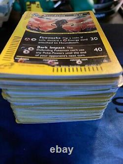 Pokemon card collection 500+ cards base jungle gym hero holographic 130 holos