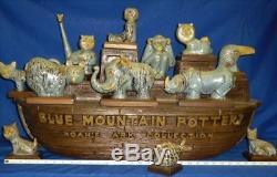 RARE Blue Mountain Pottery Noah's Ark Collection
