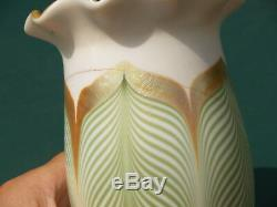 Reduced! Antique, Set Of 4, Steuben Art Glass Shades, Art Nouveau, Ca 1910