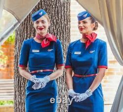 Rossiya Airlines Stewardess Flight Attendant Uniform