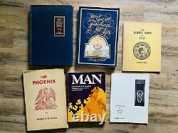 SIGNED Collection of 111 Manly P Palmer Hall Esoteric Qabbalistic Occult Alchemy
