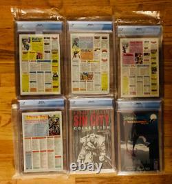 SPAWN Lot 1st 6 Comics #1,2,3,4,5,6 All CGC 9.8 NM/MT MCFARLANE JAMIE FOXX MOVIE