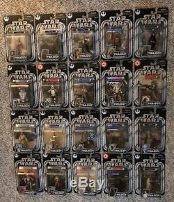 STAR WARS THE ORIGINAL TRILOGY COLLECTION Lot of 20 Action Figures Mint on Card