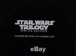 STAR WARS Trilogy SELaserdisc Box Set, Limited #'d VHS Set+3CD Soundtracks&Book