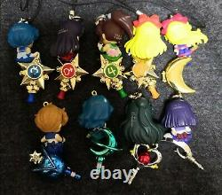 Sailor Moon Twinkle Dolly Set of 19 candy toy BANDAI