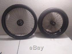 Schwinn stingray chopper occ part Front & rear wheels green S BUY NOW $ 105