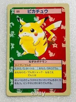 Set Of 150 Pokémon TOPSUN Full Set Rare Card Japan 1995 Nintendo Green Back