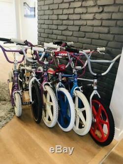 Set of 6 GT performer Redline gt scooter old school vintage BMX bike collection