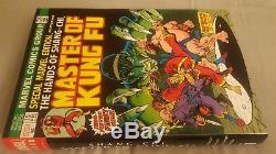 Shang-Chi, Master of Kung Fu vol. 1-4 HC omnibus DM variant set FREE SHIPPING
