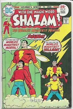 Shazam! (V1, 1973) #1-35 100% COMPLETE + Superman 276 4 13 14 15 16 17 18 25 28