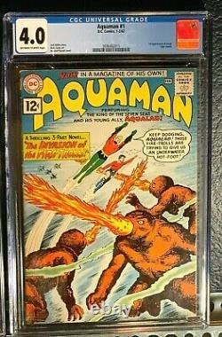 Silver-Age 1 JUSTICE LEAGUE Aquaman GREEN LANTERN Hawkman CGC lot 1st Appearance