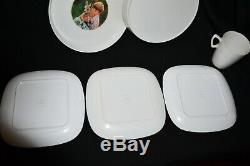 Skippy Plates & Mug Set Vintage Bessemer 60's/70's