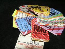 Southwest Airlines Vintage 2005 Collectible Bag Tags, Thirty Four Cities & IAH