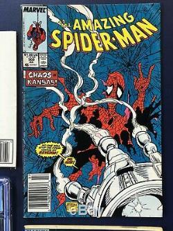 Spider-man #300 Newsstand 1st Venom Lot x7 301 302 303 304 305 CGC 9.8 306