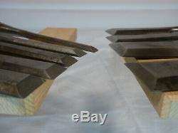 Stanley Bevel Edge Chisels (9 Piece Set)
