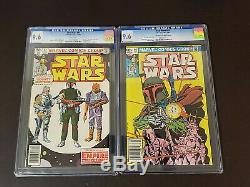 Star Wars #42 / #68 CGC 9.6 WHITE NEWSSTAND 1st & 2nd App Boba Fett 1980 1983