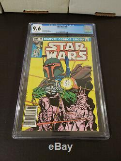 Star Wars #42 / #68 CGC 9.6 WH NEWSTAND 1st 2nd Boba Fett Marvel 1980 1983