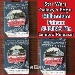 Star Wars Galaxy's Edge Disney Pin Bundle Opening Day Jumbo Pin, Limited LE & LR