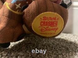 Stitch Crashes Disney Plush-Sleeping Beauty, Pinocchio, Little Mermaid, Aladdin