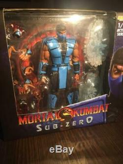 Storm Collectibles Mortal Kombat Lot (scorpion, Sektor, Sub-zero) (displayed)