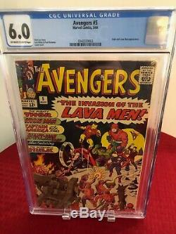 The Avengers 1, 2, 3, 4 & 5 (CGC Graded) The Ultimate Avengers Collection