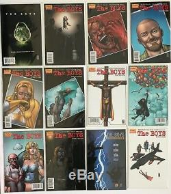 The Boys #2-72 Near Complete Full Series Nm- To Nm+ Dc/wildstorm Dynamite