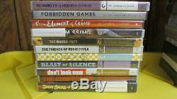 The Criterion Collection Lot -42 TITLES BRAND NEW DVD AND BLURAY SOME OOP