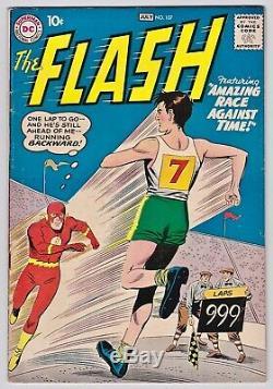 The Flash #106, 107, 108. Scarce Key Gorilla Grodd Trilogy. Higher-Mid Grade