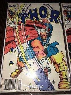 The Mighty Thor Comic Book Lot x4 First Appearance Beta Ray Bill #337, 338, 339