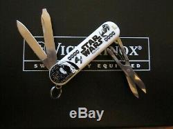 Three STAR WARS Victorinox'Classic' Swiss Army Knives