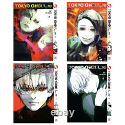 Tokyo Ghoul RE Sui Ishida Vol. 1-16. End Complete Manga Comics English Version