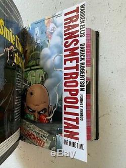 Transmetropolitan by Warren Ellis Complete Omnibus Custom Bound Hardcover Set DW