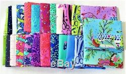 Tula Pink Homemade 25 Fat Quarter Bundle Full Collection, Cotton Fabric