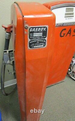 Two (2) vintage GASBOY fuel pumps GAS BOY good condition