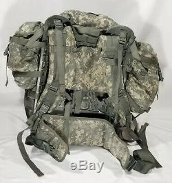 US Army MOLLE II ACU Large RuckSack+Frame+Rifleman(Vest+Pouch LOT+Hydration)