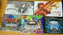 Ud Marvel Sealed Hobby 5-box Lot! Agents Shield Defenders Punisher Ant-man Ages