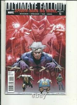Ultimate Fallout #4 PLUS #s2 3 5 1st Print / Miles Morales SPIDER-MAN Appearance