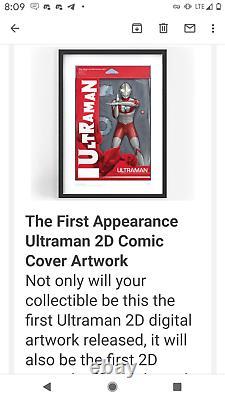 UltraMan SECRET RARE 1ST Appearance 2D Comic Cover VEVE NFT Limited Edition