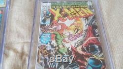Uncanny X-Men 101 105 125 CGC Signed Stan Lee 9.2 9.6 9.6 Phoenix