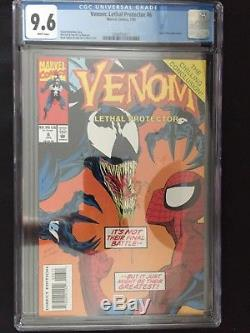 Venom Lethal Protector 1 6 CGC 9.8 1st Venom Series