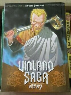 Vinland Saga Hardcover Books 1-9 (except 7)