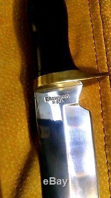 Vintage Browning Sportsman 5518 & 4518 Skinner USA Hunting Knife