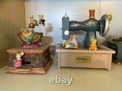 Vintage Enesco and Pelman Mice music boxes (16)