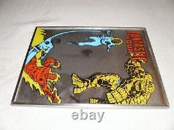 Vintage Fantastic Four Brytone Mirror Marvel Comics Rare Marvelmania New 1976