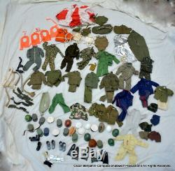 Vintage G. I. Joe Collection/Lot! Russian, Marine, Atomic, Parts, Boots, WOW