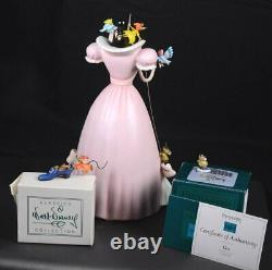 WDCC Fig CINDERELLA A Lovely Dress For Cinderelly & Miniatures GUS Box & COA