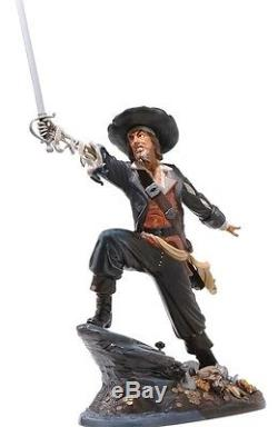WDCC Pirates of the Caribbean Jack Sparrow and Captain Barbossa BNIB SALE